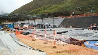 Deposito en proceso, La Granja Rio Tinto en Cajamarca Perú - Foto