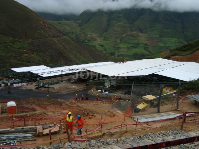 Deposito en proceso, La Granja Rio Tinto en Cajamarca Perú - Foto 4