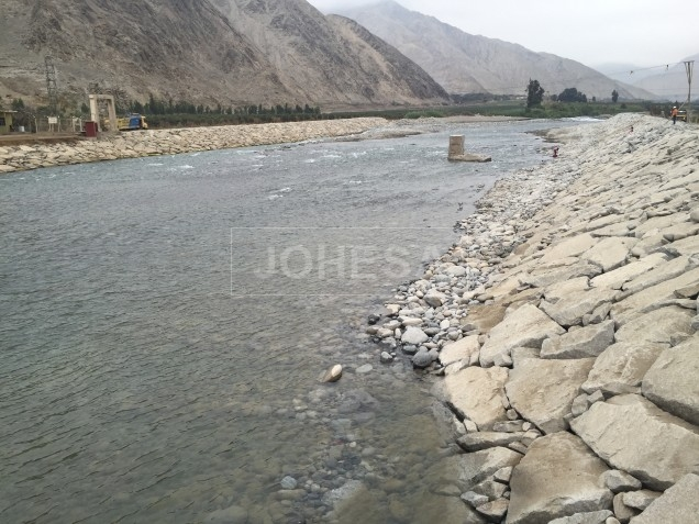 Construcción en proceso, Puente Lunahuana - 1